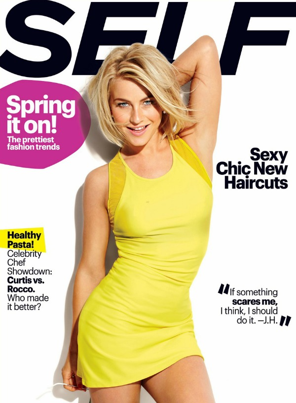 Julianne Hough: Self Magazine March 2013