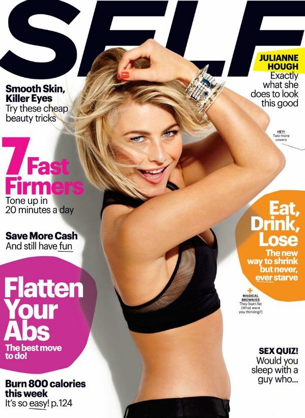 Julianne Hough: Self Magazine March 2013