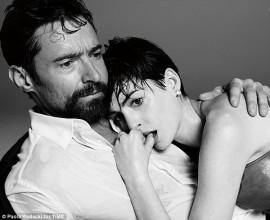 Time Mag Oscar Issue 2013: Hugh Jackman, Anne Hathaway