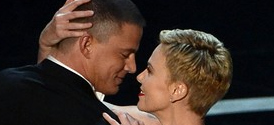 Oscars 2013: Charlize Theron and Channing Tatum Dance