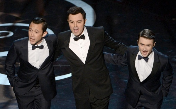 Oscars 2013: Daniel Radcliffe and Joseph Gordon-Levitt