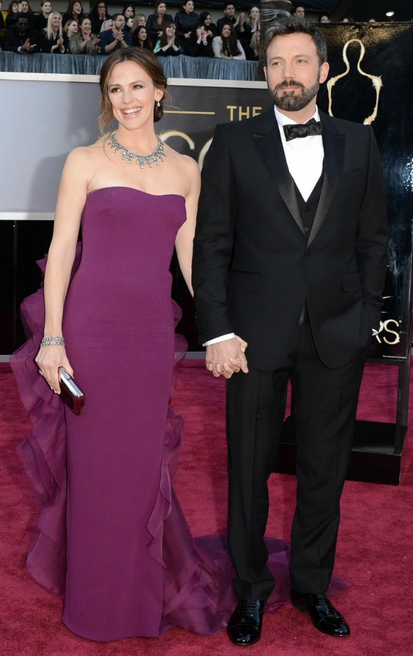 Oscars 2013: Jennifer Garner and Ben Affleck