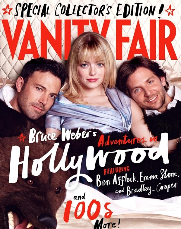 Vanity Fair Cover: Affleck, Stone, Cooper