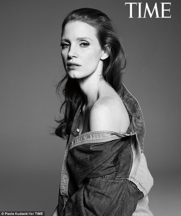 Time Mag Oscar Issue 2013: Jessica Chastain