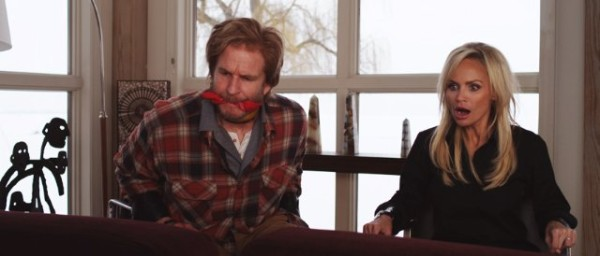 "Matthew Modine and Kristin Chenoweth in ""Family Weekend"""