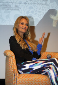 Kristin Chenoweth at the press conference in New York Melanie Votaw Photo