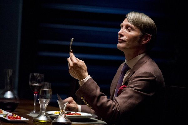 "Mads Mikkelsen as Hannibal Lecter in ""Hannibal"""