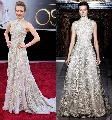 Anne Hathaway Valentino Oscar Dress