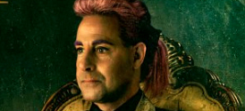 Catching Fire: Stanley Tucci as Caesar Flickerman