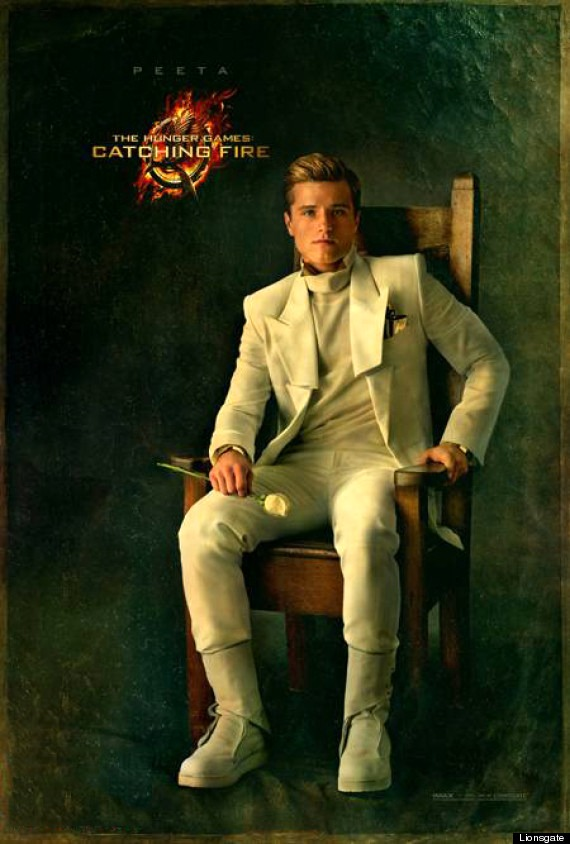 Catching Fire: Peeta Mellark Portrait