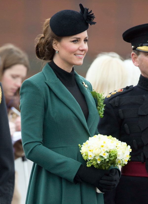 Duchess Kate: St. Patrick's Day 2013