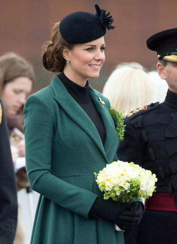 Duchess Kate: St. Patrick's Day 2013