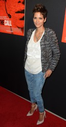 Halle Berry at The Call Screening