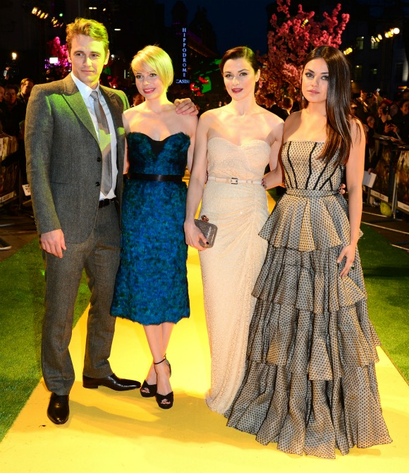 Oz the Great and Powerful London Premiere