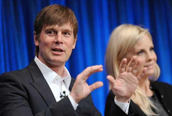 Peter Krause and Monica Potter of Parenthood