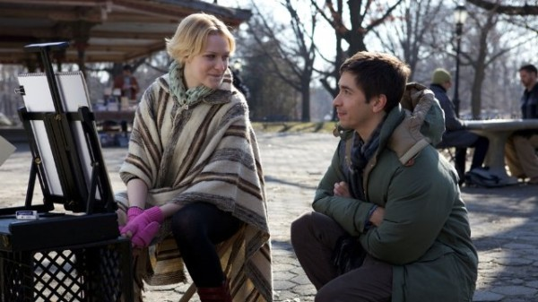 "Evan Rachel Wood and Justin Long in ""A Case of You"""