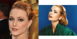 Evan Rachel Wood Grace Kelly