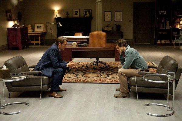 "Mads Mikkelsen and Hugh Dancy in ""Hannibal"" | NBC"
