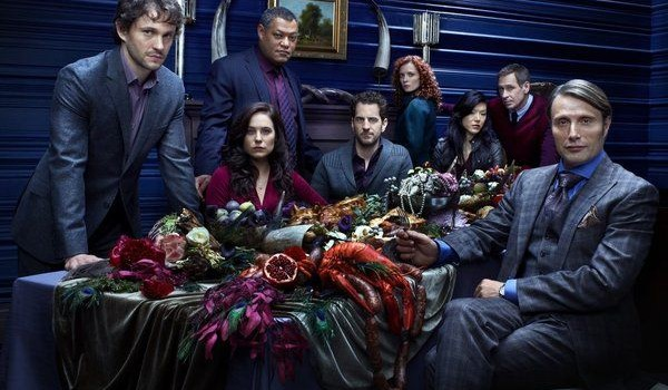 The core cast of Hannibal