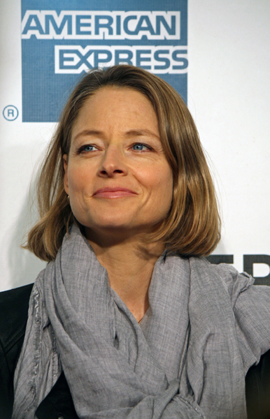 Jodie Foster attended the screening of Sunlight Jr. at the Tribeca Film Festival | Melanie Votaw Photo