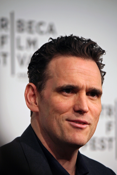 Matt Dillon chats with reporters on the red carpet | Melanie Votaw Photo