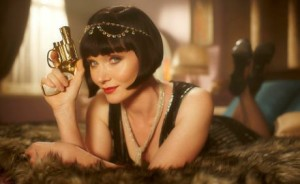 Phryne Fisher, ready for action