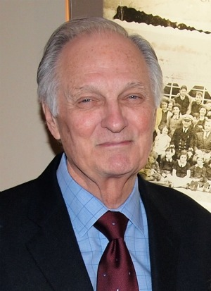 Alan Alda at the premiere of HBO's 50 Children: The Rescue Mission of Mr. and Mrs. Kraus