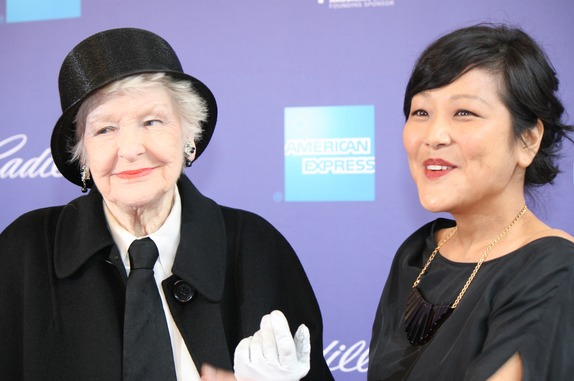 Elaine Stritch and Chiemi Karasawa