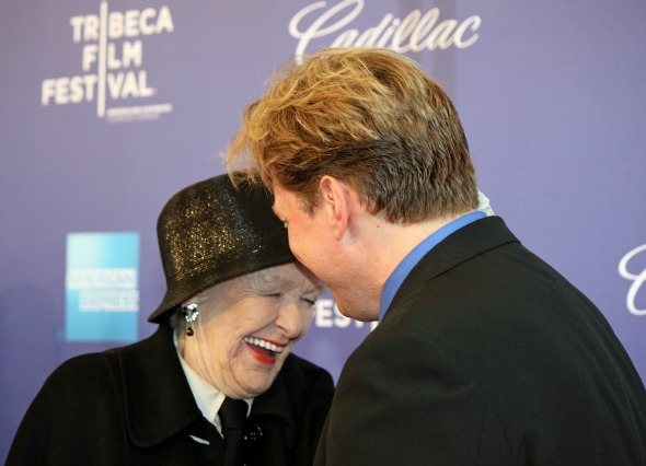 Elaine Stritch and Rob Bowman