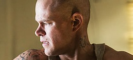Matt Damon Shirtless in Elysium