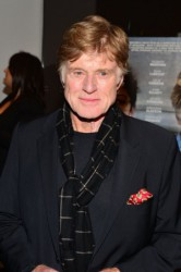 Robert Redford at The Company You Keep Premiere