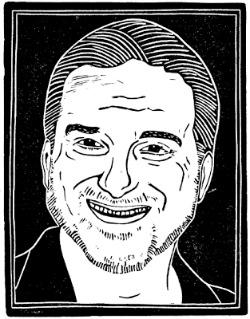 Shane Black Woodcut by Loren Kantor