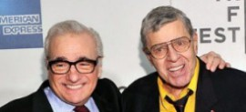 Martin Scorsese and Jerry Lewis