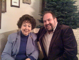 Jane Withers with fan 2008
