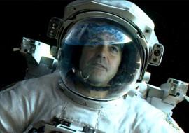 Gravity starring Clooney, Bullock