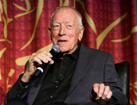 Max von Sydow at the TCM Classic Film Festival 2013