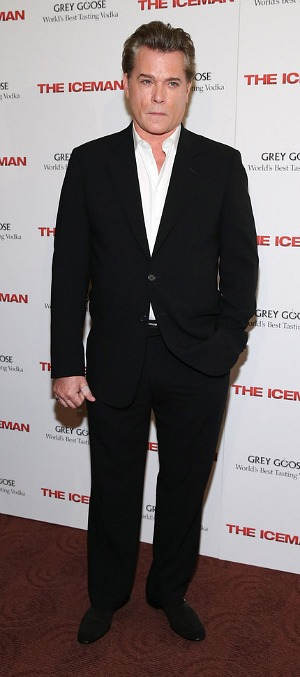 Ray Liotta at the New York Premiere of 'The Iceman""