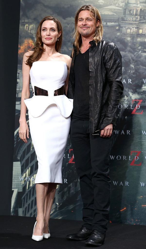 Brad and Angie: World War Z Berlin Premiere