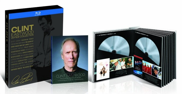Clint Eastwood 20-Film Collection on Blu-ray