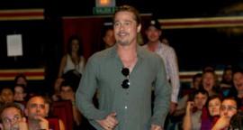 World War Z: Brad Pitt at the Madrid Premiere