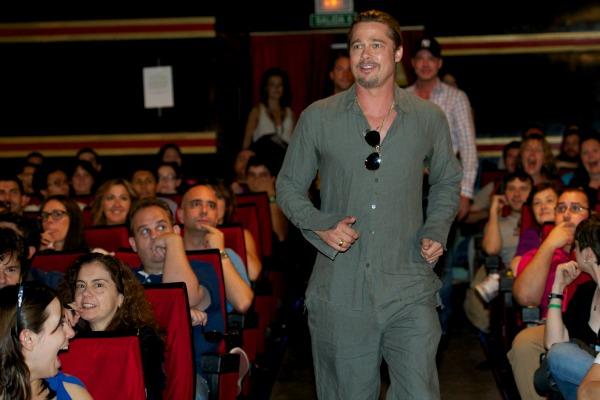 World War Z: Brad Pitt at the Madrid Premiere