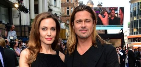 World War Z Premiere: Brad & Angie
