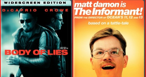 July Giveaway Extravaganza: Body of Lies & The Informant