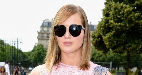 Jennifer Lawrence: Paris Fashion Week 2013