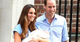 First Look: Kate, William and Royal Baby