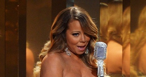Mariah Carey at the BET Awards 2013
