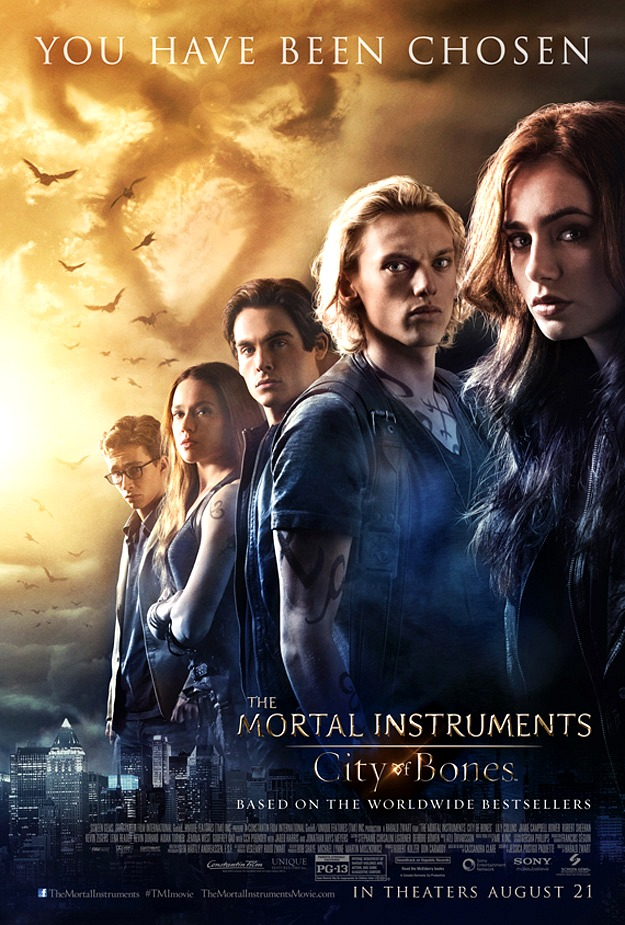 Mortal Instruments City of Bones Poster