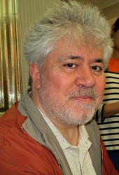 Pedro Almodovar at a Press Event for I'm So Excited