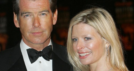 Pierce Brosnan and daughter Charlotte Brosnan