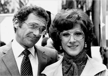 Sydney Pollack and Dustin Hoffman